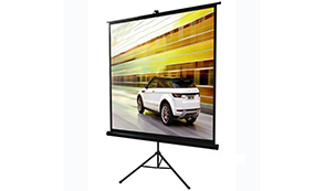 Gain 1.1 HD Fabric Tripod projector screen